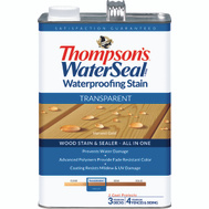 Thompsons 041811-16 Harvest Gold Waterproofing Transparent Stain & Sealer Gallon