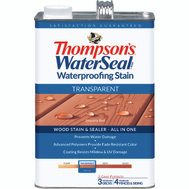Thompsons 041831-16 Sequoia Red Waterproofing Transparent Stain & Sealer Gallon