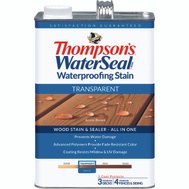 Thompsons 041841-16 Acorn Brown Waterproofing Transparent Stain & Sealer Gallon