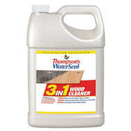 Thompsons TH.074871-16 Waterseal 3 In 1 Wood Cleaner Cleans All Wood Types Gallon