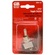 Gardner Bender ECM GSW-121 Heavy Duty Toggle Switch Single Pole Single Throw
