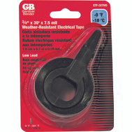 Gardner Bender GTP-307WD Black Electrical All Weather Tape