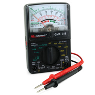 Ecm Industries Llc GMT-318 14 Range Analog Multimeter