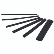 Gardner Bender HST-ASTB Tube Heat Shrink 160Pc 3In Blk 160 Pack