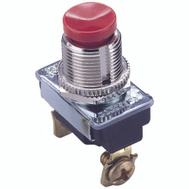 Gardner Bender GSW-23 On Push Button Switch Single Pole