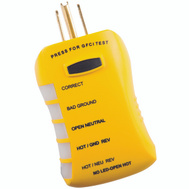 Ecm Industries Llc HGT6520 Stop Shock GFCI Tester