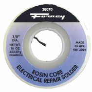 Forney 38070 Solder Comm 1/8In 1 Pound Rsn Cre