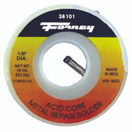 Forney 38101 Solder Comm Acid Cre 1 Pound 1/8in