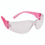 Forney 55333 Glasses Safety Clear/Pink