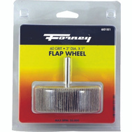 Forney 60181 Wheel Flap Mount 60 Grit 3X1in