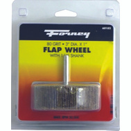 Forney 60182 Wheel Flap Mount 80 Grit 3X1in