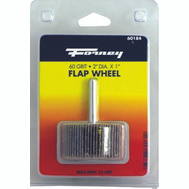 Forney 60184 Wheel Flap Mount 60 Grit 2X1in