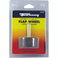 Forney 60186 Wheel Flap Mount 120 Grt 2X3in