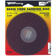 Forney 71668 Disc Sanding A/O 36Grit 4.5In
