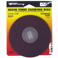Forney 71670 Disc Sanding A/O 80Grit 4.5In