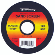 Forney 71727 Sand Screen 180 Grit 1-1/2X9ft