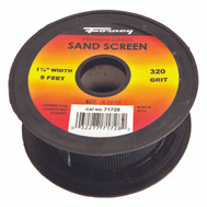 Forney 71728 Sand Screen 320 Grit 1-1/2X9ft