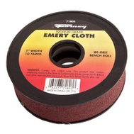 Forney 71803 Cloth Emery 80Grit 1Inx10yard