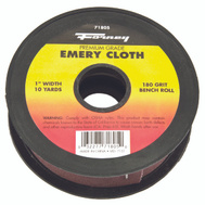 Forney 71805 Cloth Emery 180Grit 1Inx10yard