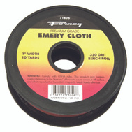 Forney 71806 Cloth Emery 320Grit 1Inx10yard