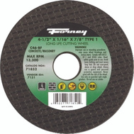 Forney 71852 Wheel Cutoff Msnry4-1/2 By 1/16 By 7/8