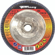 Forney 71920 Disc Flap Type29 40Grit Hidens