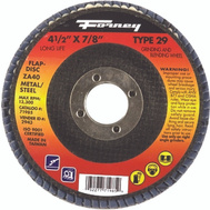 Forney 71927 Disc Flap Type27 60Grit 4.5In