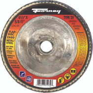 Forney 71932 Disc Flap Type29 80Grit 4.5In