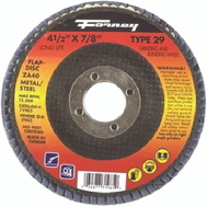 Forney 71985 Disc Flap Type29 40Grit 4.5In