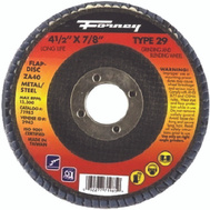 Forney 71986 Disc Flap Type29 60Grit 4.5In