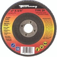 Forney 71992 Disc Flap Typ29 60Grt 4X5/8In