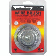 Forney 72731 Brush Cup Crimpd Wire 3X.012In