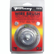 Forney 72732 Brush Cup Crimpd Wire 3X.008In