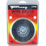 Forney 72740 Wheel Wire Crimp Fine4x.008In