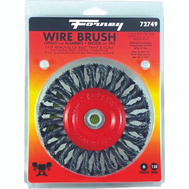 Forney 72749 Brush Wire Wheel Knot 6x.012in