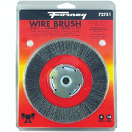 Forney 72751 Brush Wire Wheel Fine 6X.008In