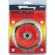 Forney 72754 Brush Cup Wire Crimp 5X.014 Inch
