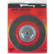 Forney 72762 Brush Wire Wheel Crs 8X.012In