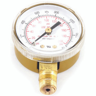 Forney 87729 Gauge 2In Oxy Lp 0-200 Psi