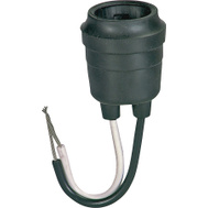 Cooper Wiring BP145 Rubber Pigtail Lampholder