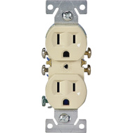 Cooper Wiring C270V 15 Amp 3 Wire Grounded Duplex Receptical Ivory