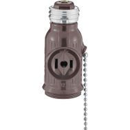 Cooper Wiring BP718B Pull Chain Lampholder Adapter