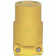 Cooper Wiring BP4887 3 Wire Grounded Connector Yellow