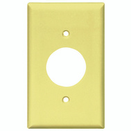 Cooper Wiring 2131V-BOX Wall Plate Single 1Gang Ivory