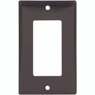 Cooper Wiring 2151B-BOX 1 Gang Rocker GFCI Wall Plate Brown