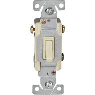 Cooper Wiring 1303V-BOX 3 Way Quiet Toggle Switch Ivory