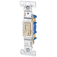 Eaton-Cooper Wiring 1301V Switch Toggle 15A 120Vac Ivory