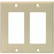 Cooper Wiring 2152V-BOX Decorator 2 Gang Wallplate Ivory