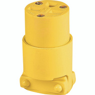 Cooper Wiring 4227-BOX Vinyl 6-15 Nema Connector Yellow