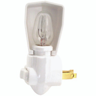 Cooper Wiring BP850W Night Light With Switch White